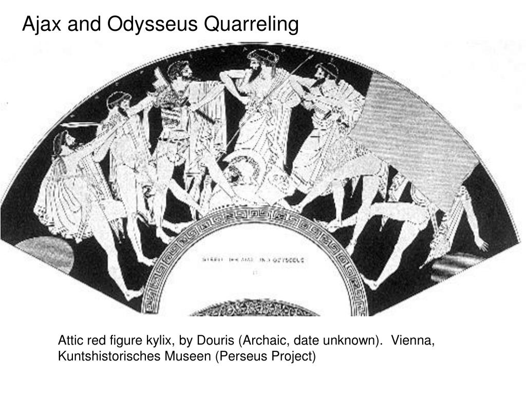 Ajax and Odysseus Quarreling