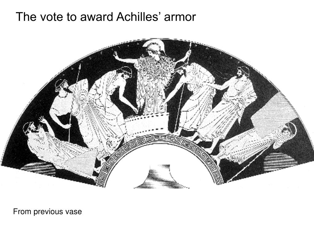The vote to award Achilles' armor