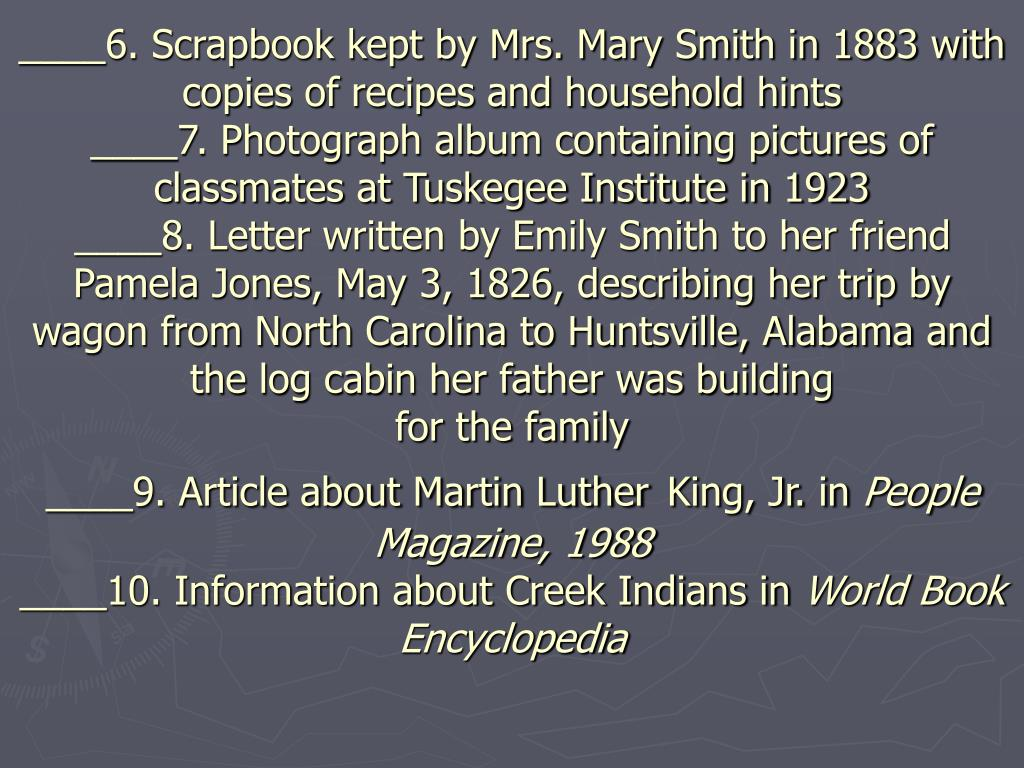 ____6. Scrapbook kept by Mrs. Mary Smith in 1883 with copies of recipes and household hints