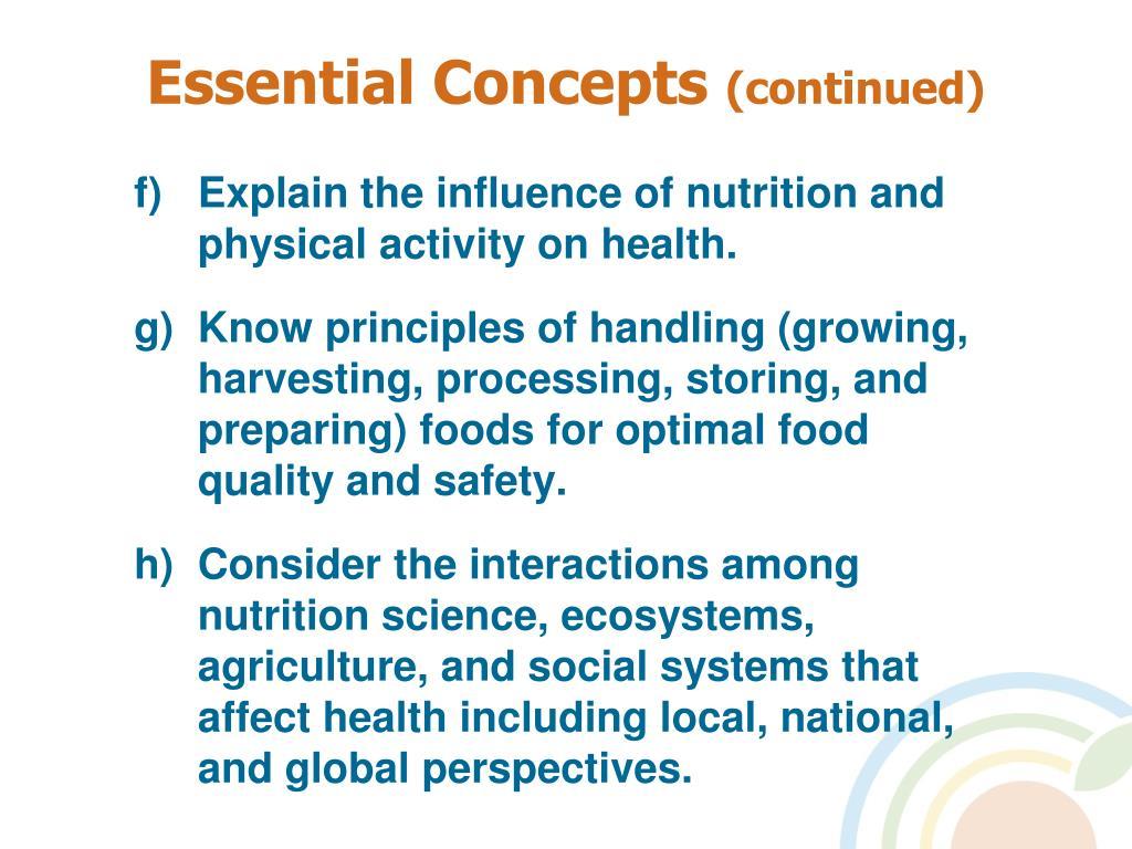 Essential Concepts
