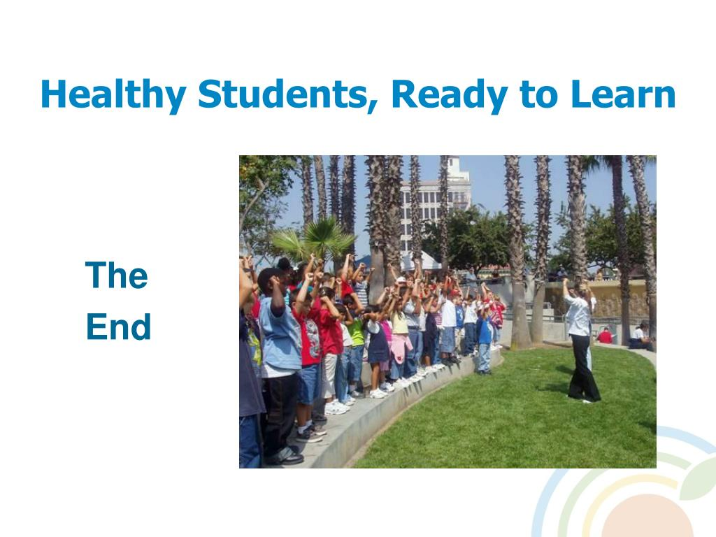 Healthy Students, Ready to Learn