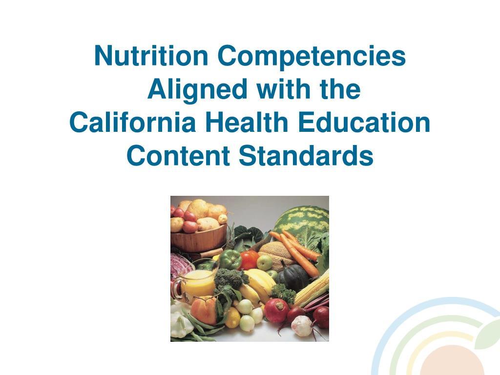 Nutrition Competencies