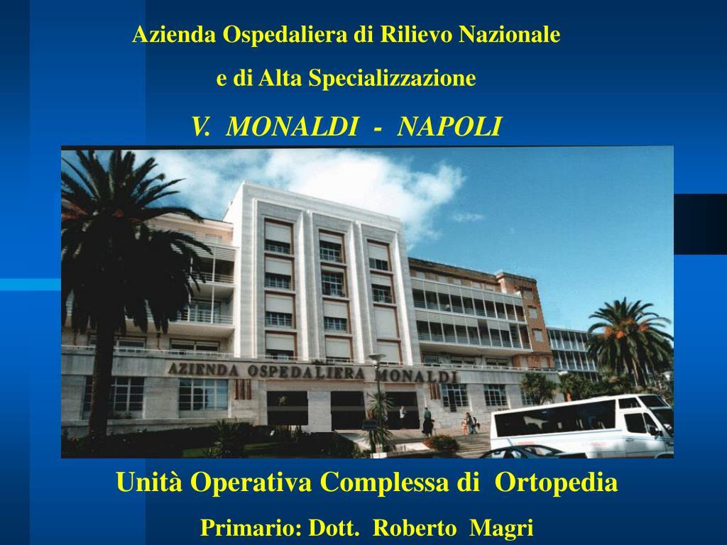 Azienda Ospedaliera di Rilievo Nazionale