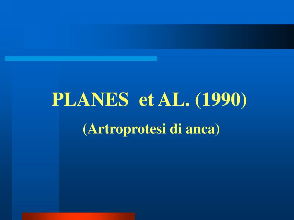 PLANES  et AL. (1990)
