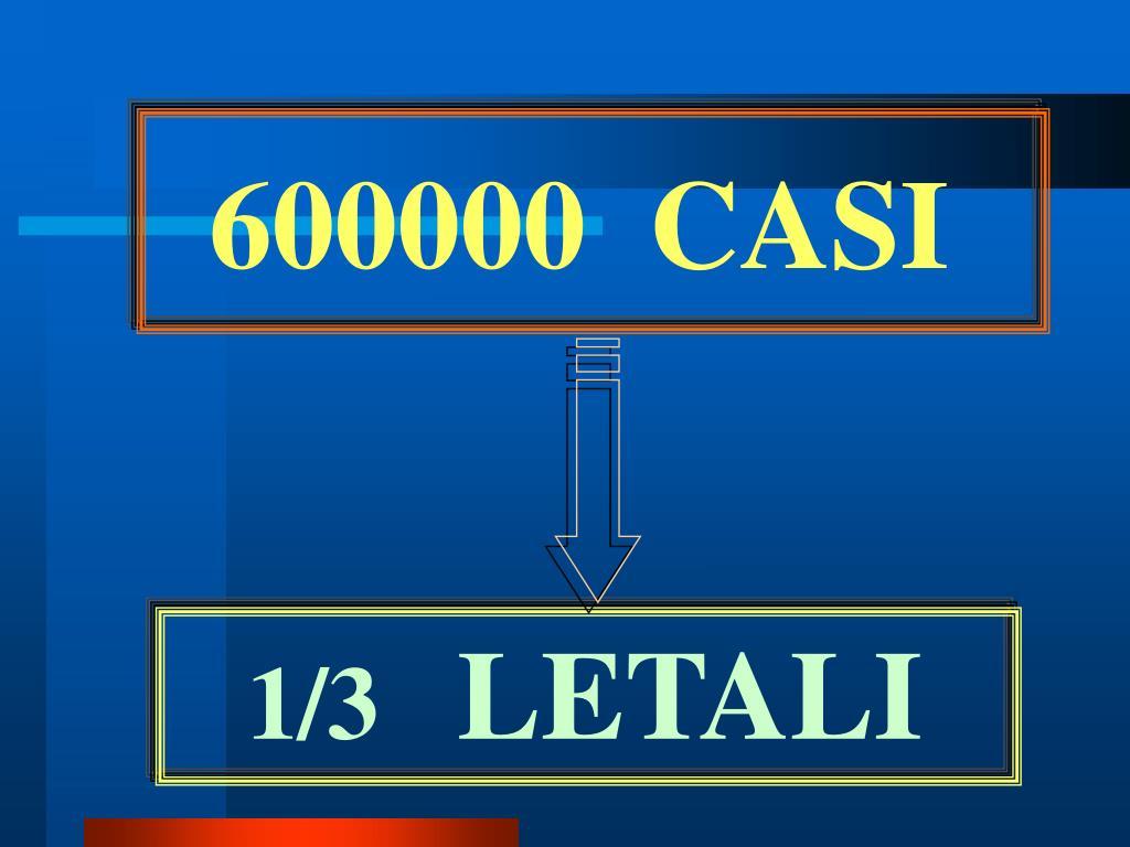 600000  CASI