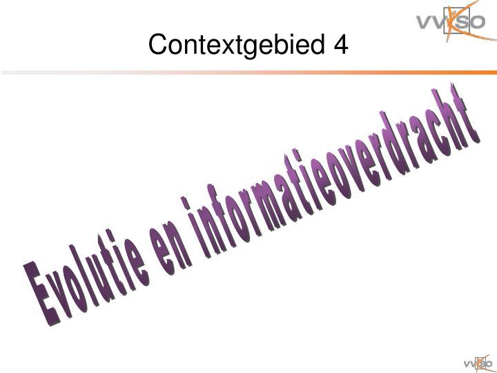Contextgebied 4