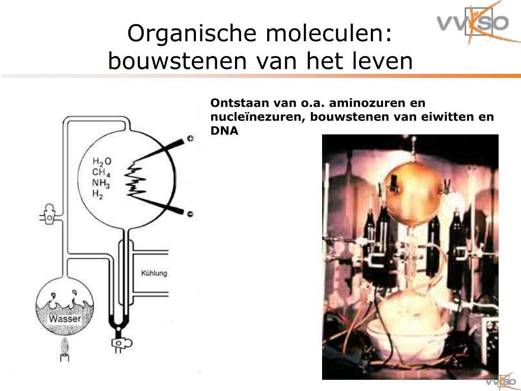 Organische moleculen: