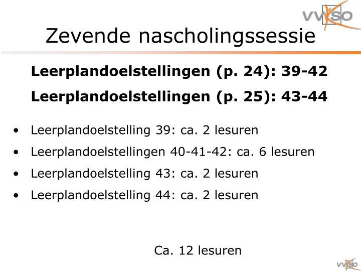 Zevende nascholingssessie2