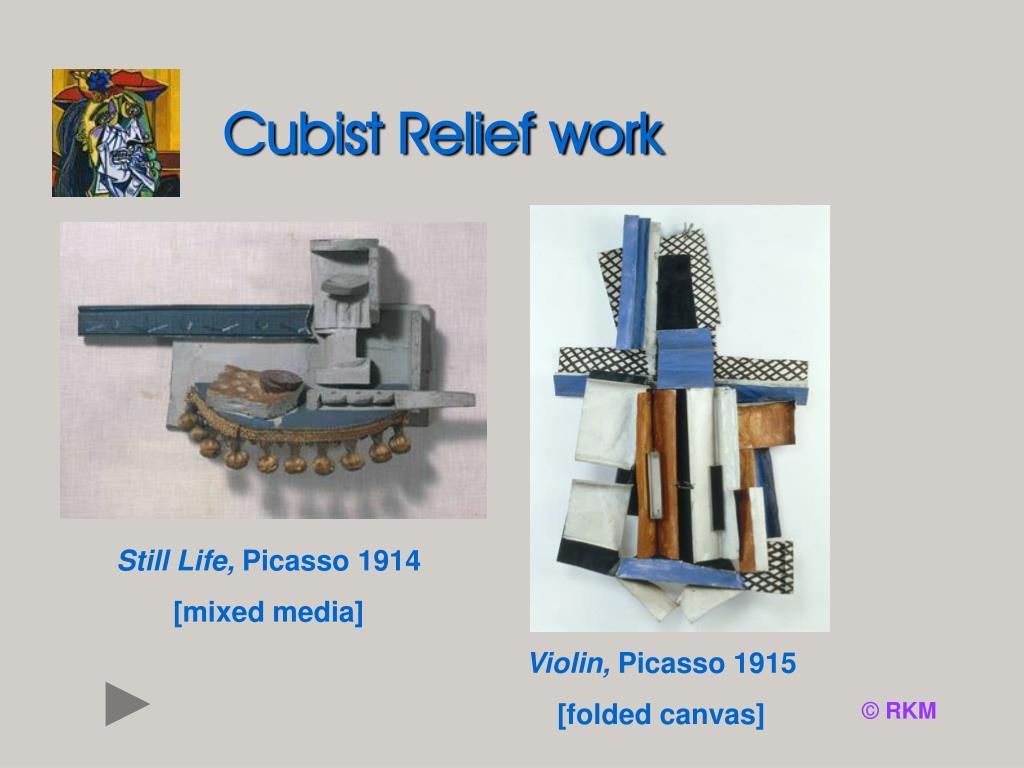 Cubist Relief work