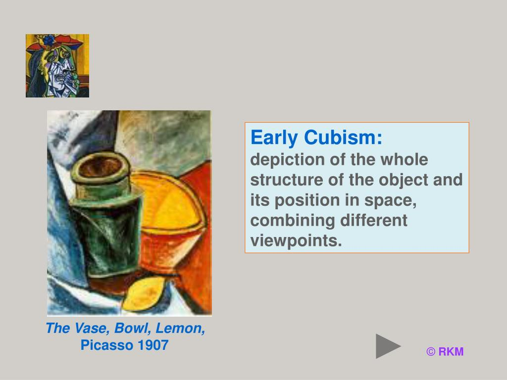 Early Cubism