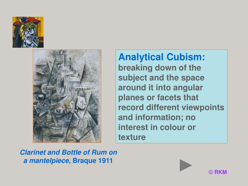 Analytical Cubism