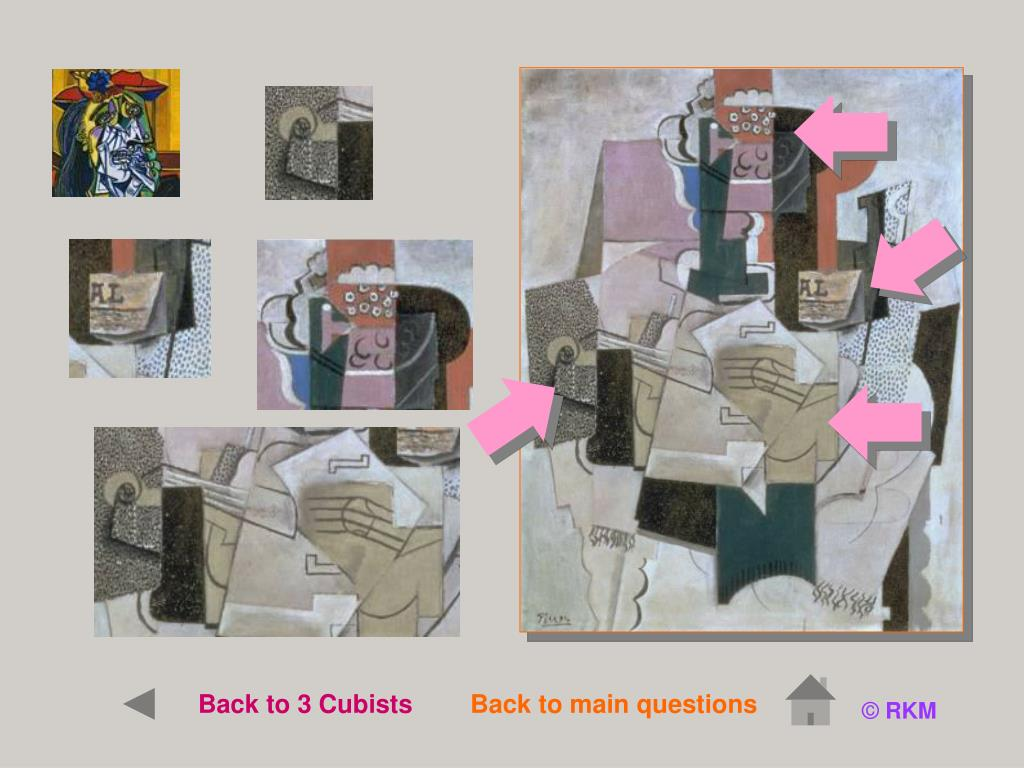 Back to 3 Cubists