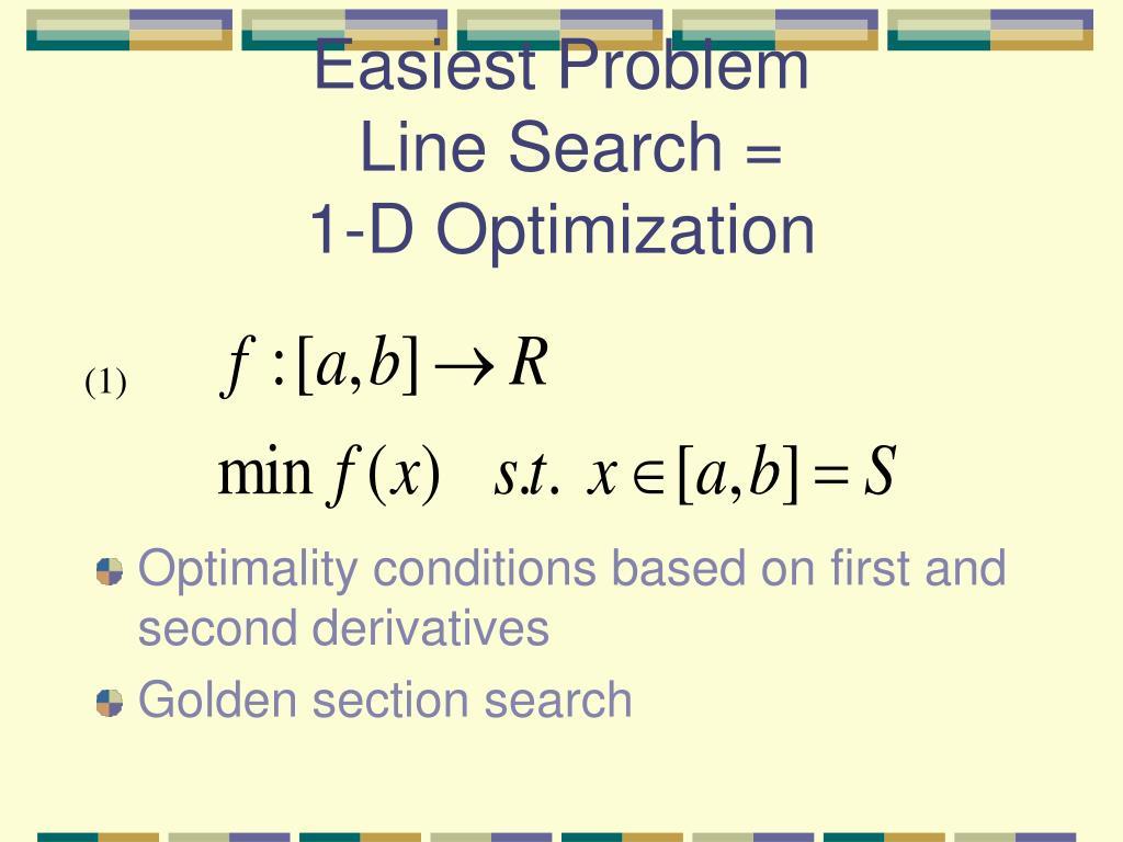 Easiest Problem