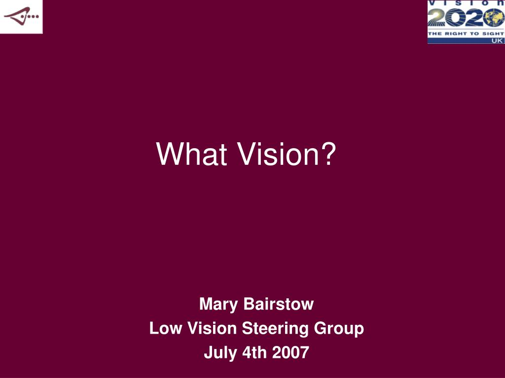 what vision l.