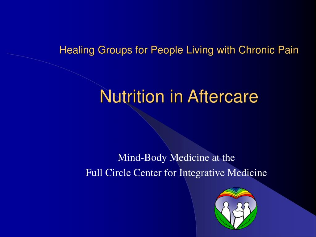 Healing Groups for People Living with Chronic Pain