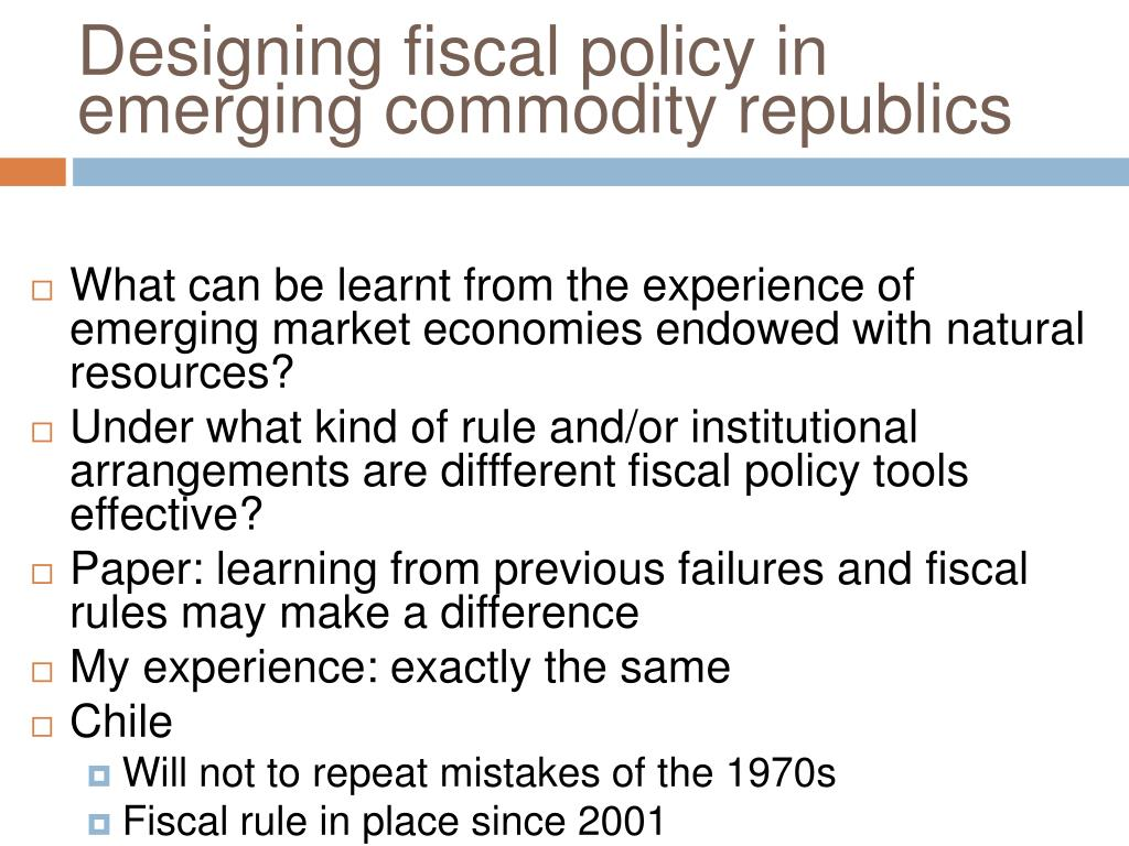 Designing fiscal policy in emerging commodity republics