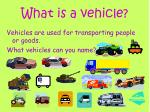 what is a vehicle