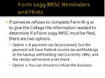 form 1099 misc reminders and hints17