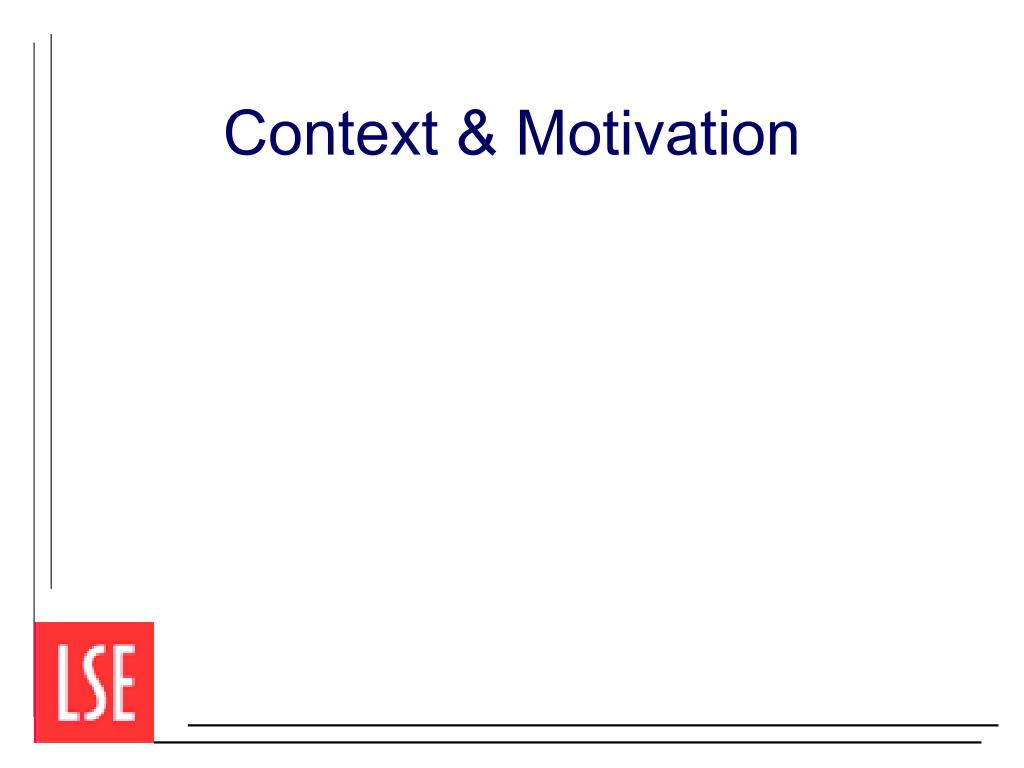 Context & Motivation