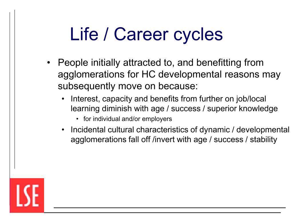 Life / Career cycles