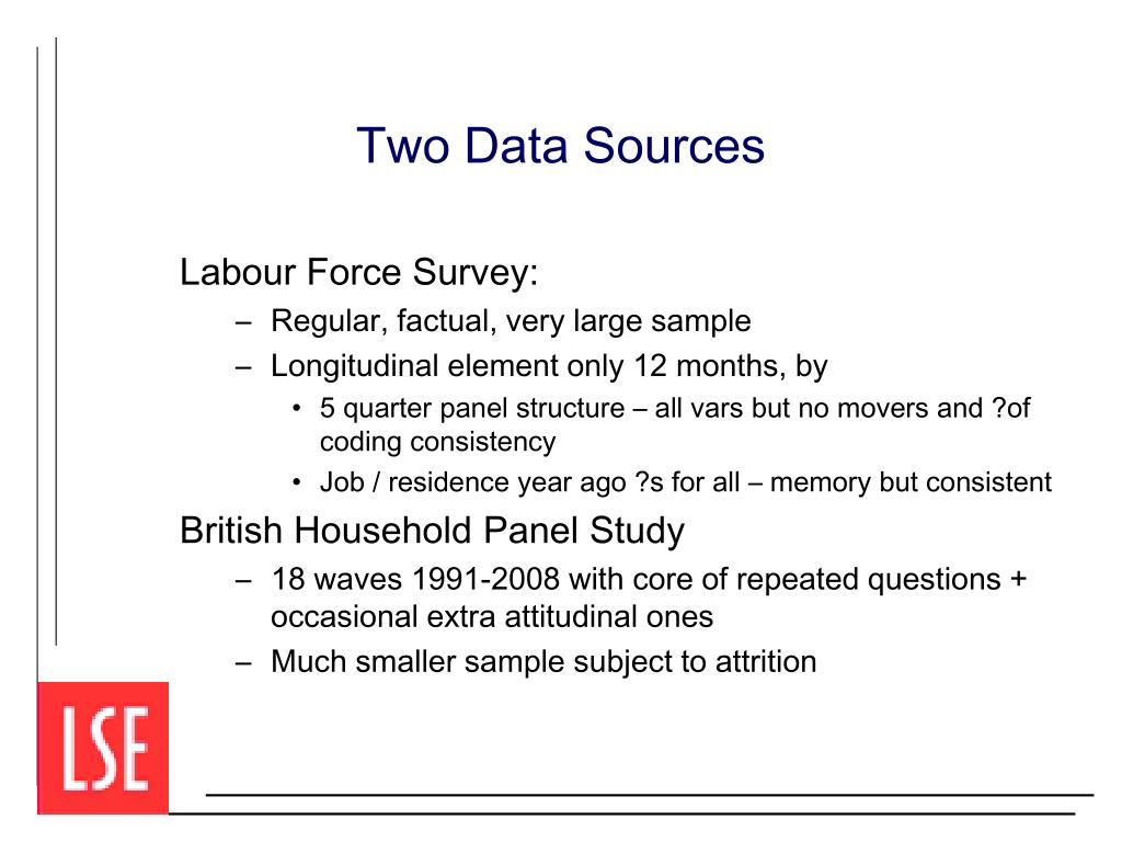Two Data Sources