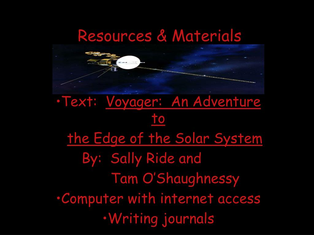 PPT - Voyager and Its Mission to Jupiter and Saturn ...