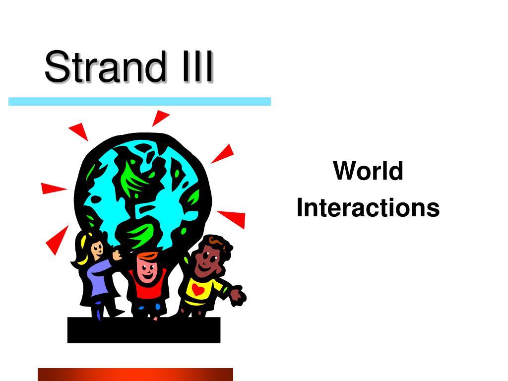 Strand III