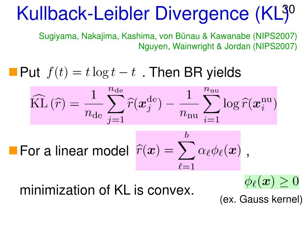 Kullback-Leibler Divergence (KL)