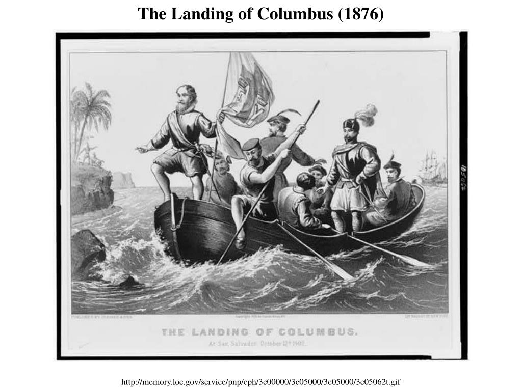 The Landing of Columbus (1876)