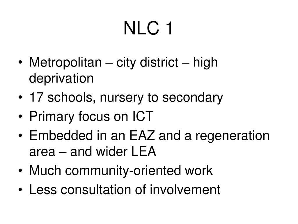 NLC 1