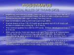 fog stratus local rules of thumb mci