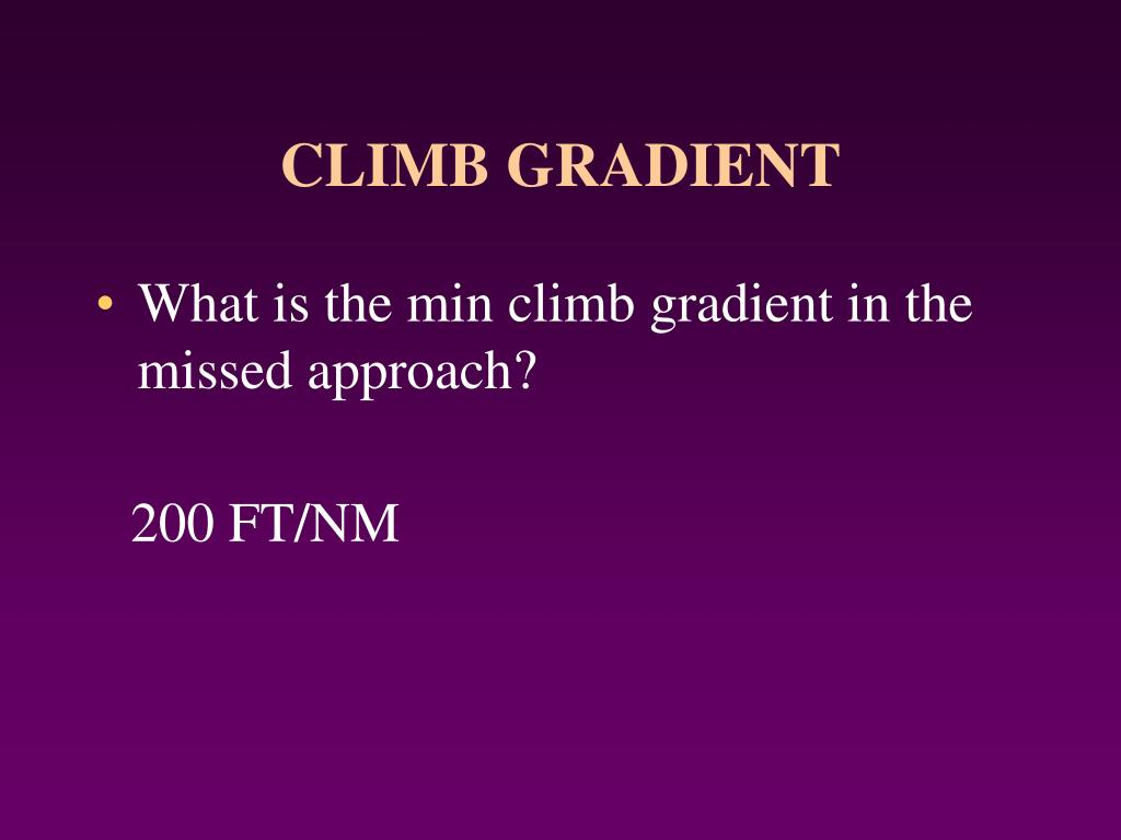 PPT - MISSED APPROACH SEGMENT PowerPoint Presentation - ID