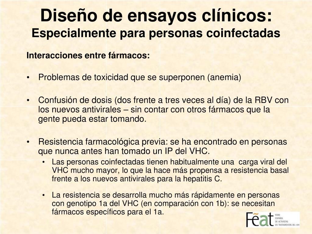 Diseño de ensayos clínicos: