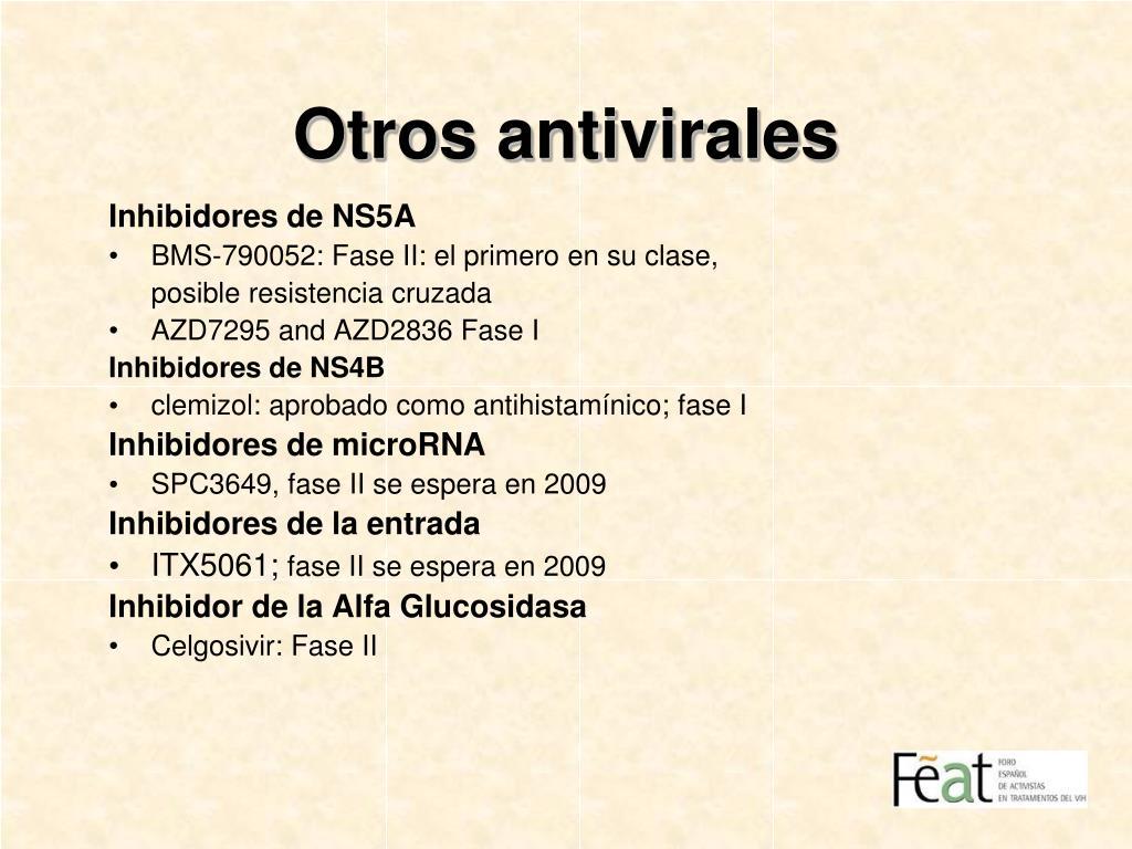 Otros antivirales