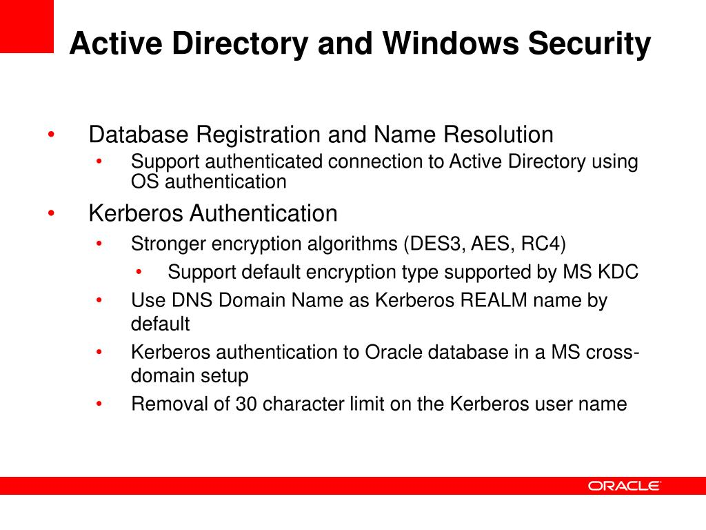 Active Directory and Windows Security