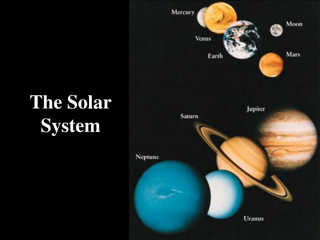 the solar system l.