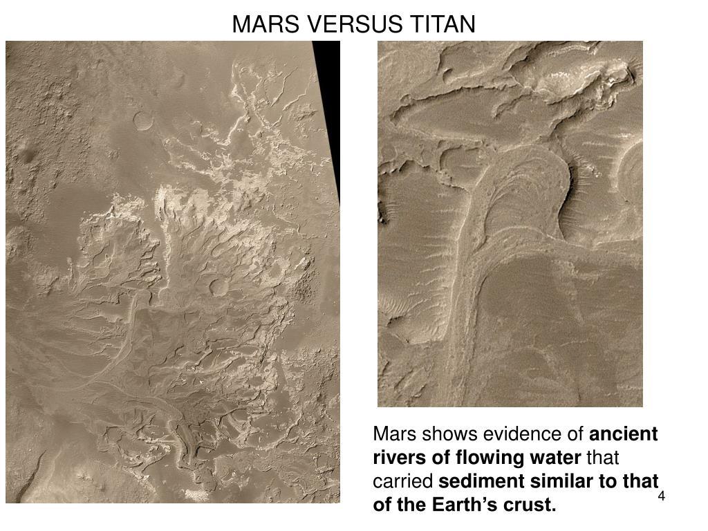 MARS VERSUS TITAN