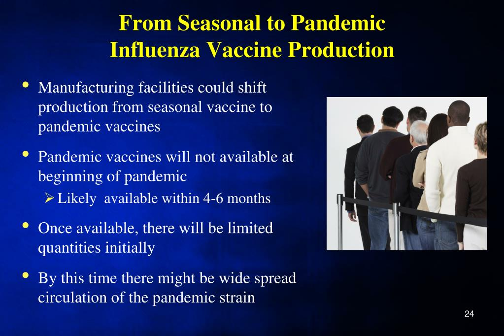 From Seasonal to Pandemic