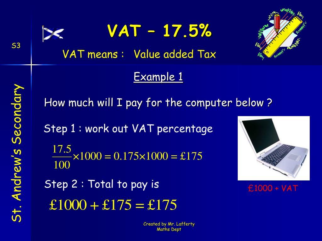 £1000 + VAT