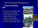 travel demand management
