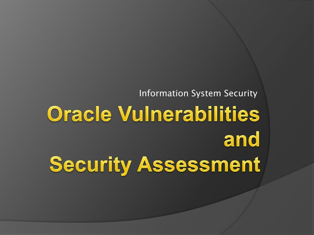 information system security l.
