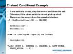 chained conditional example