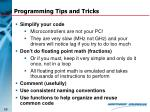 programming tips and tricks68