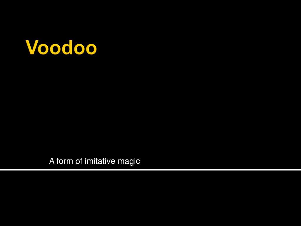 a form of imitative magic l.