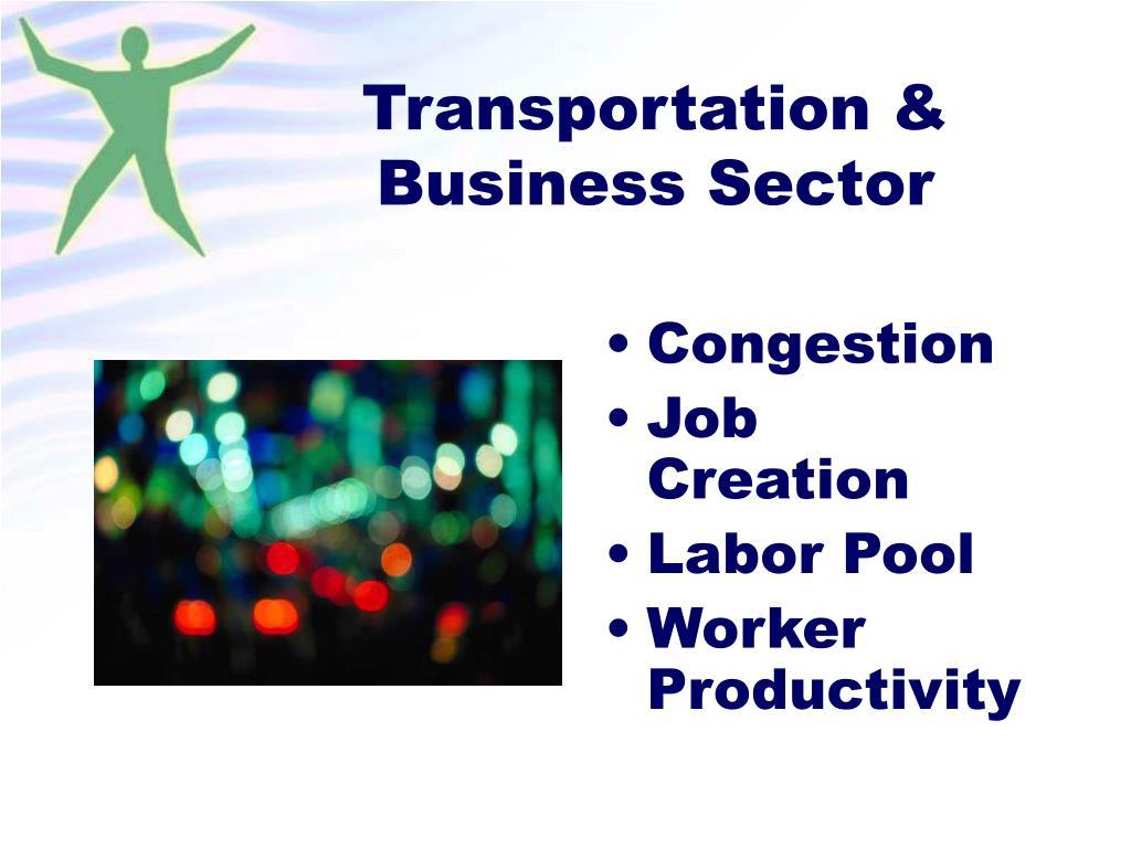 Transportation & Business Sector