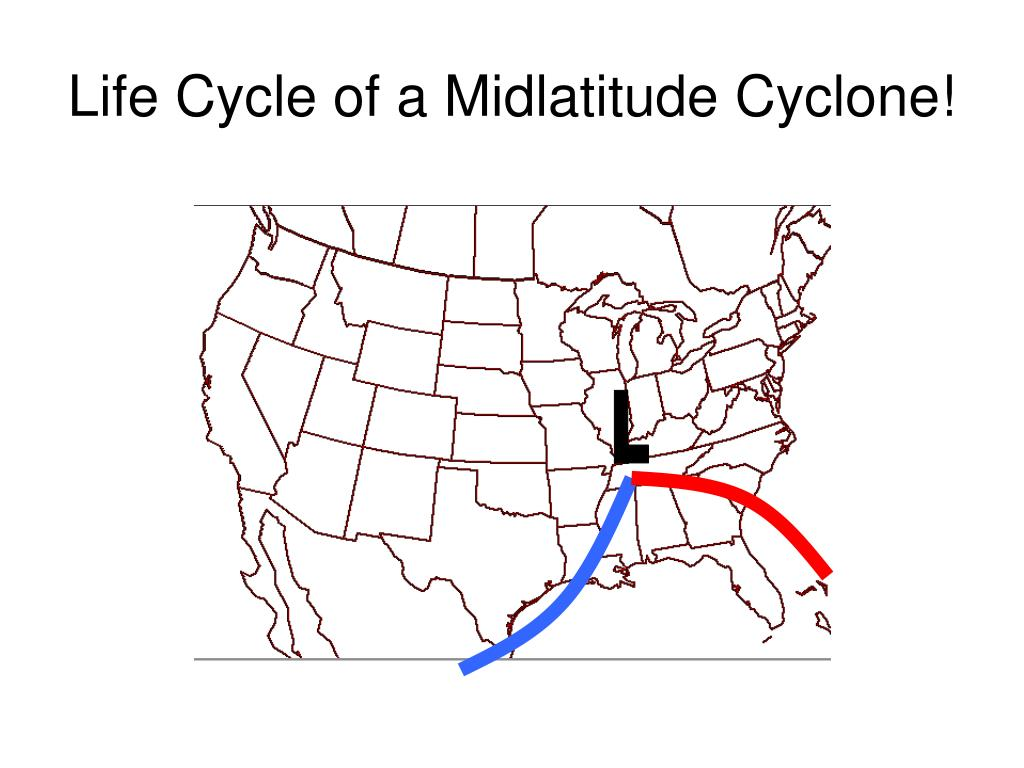 Life Cycle of a Midlatitude Cyclone!