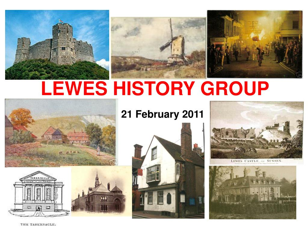 LEWES HISTORY GROUP