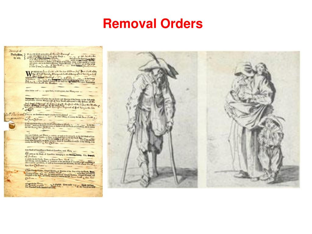 Removal Orders