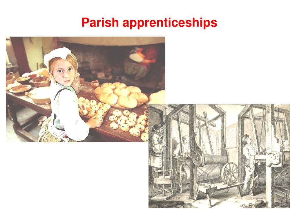 Parish apprenticeships