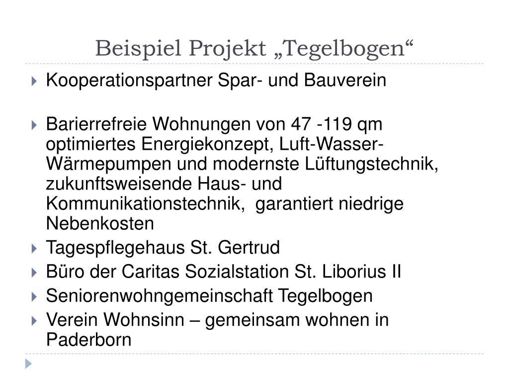 """Beispiel Projekt """"Tegelbogen"""""""